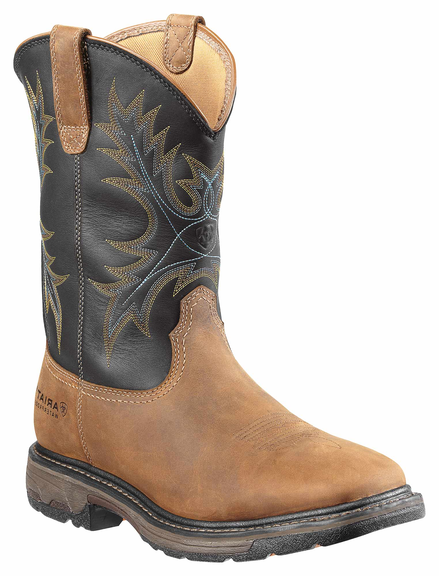 Collections Cheap Online Discount Purchase Ariat Workhog? Wide Square Steel Toe Boot(Men's) -Rugged Bark Full Grain Leather Discount 2018 Unisex DQln4ni
