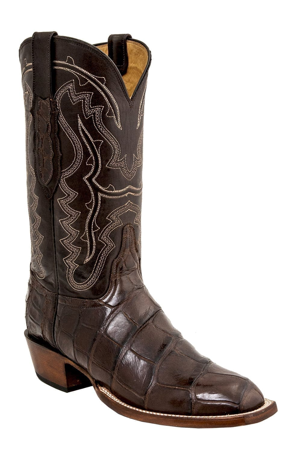 Lucchese Men S Classic Exclusive Giant Alligator Belly