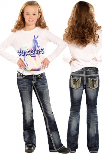 Rock N Roll Cowgirl Kid S Boots N Britches
